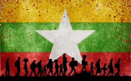 myanmar_grunge_flag_hd_wallpape555r